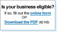 Is Your Business Eligible?