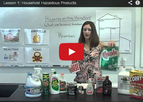 Household Hazardous Products video