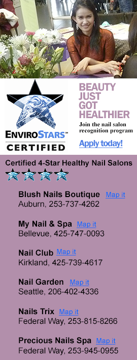 recognition program for nail salons