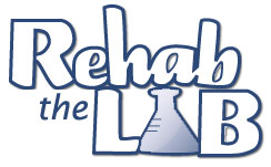 Rehab the Lab Logo